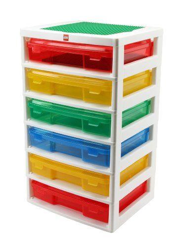 IRIS LEGO 6-Case Workstation and Storage Unit with 2 Base Plates  sc 1 st  Pinterest & 18 Cool Lego Storage Solutions | Iris Lego and Storage