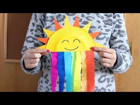 Easy Peasy And Fun Youtube Hawa Brwa Rainbow Crafts Crafts