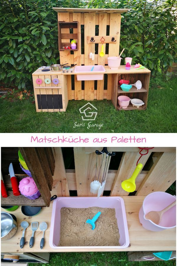 ᐅ Build your own slush kitchen from pallets & fruit boxes -  This great DIY mu...