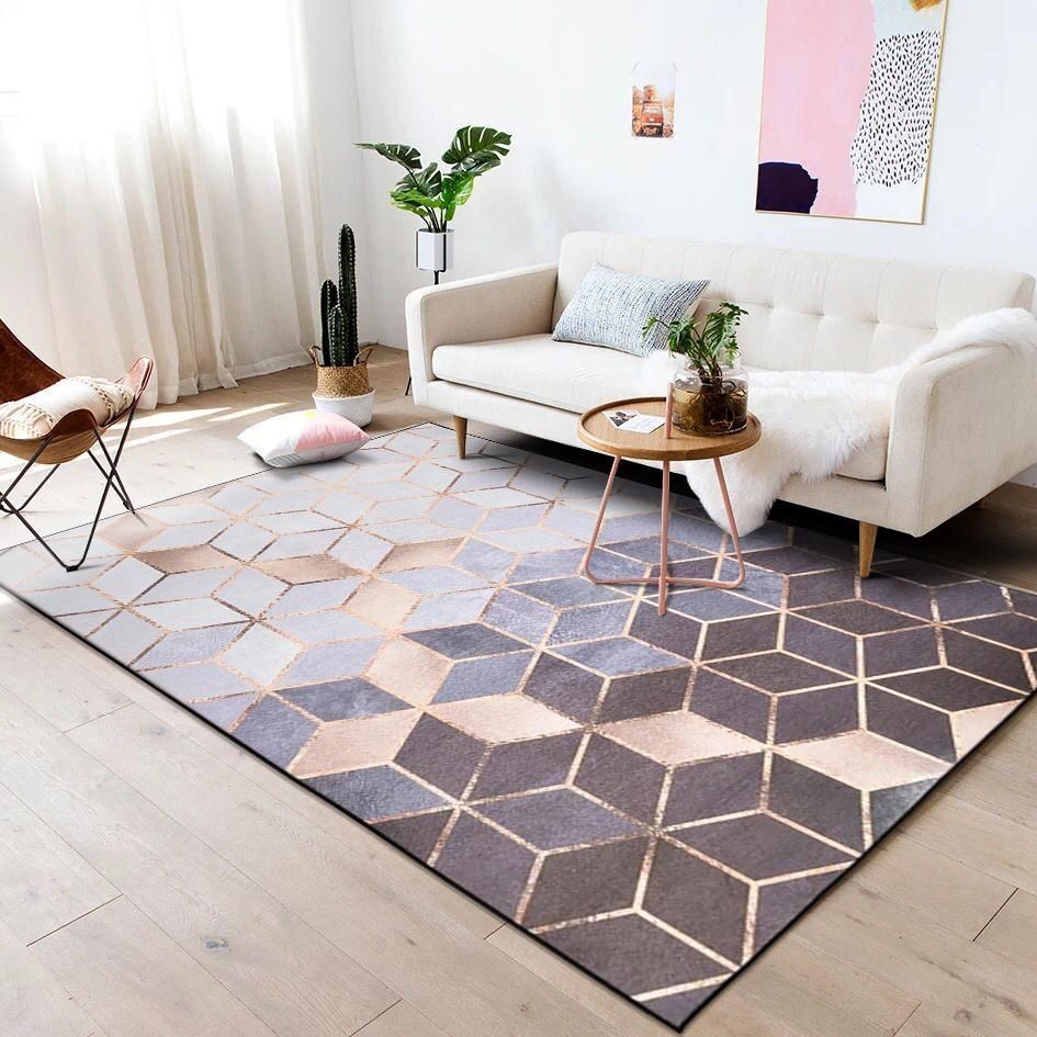 Rose Gold Euclid Rug Living Room Area Rugs Area Room Rugs Rugs In Living Room