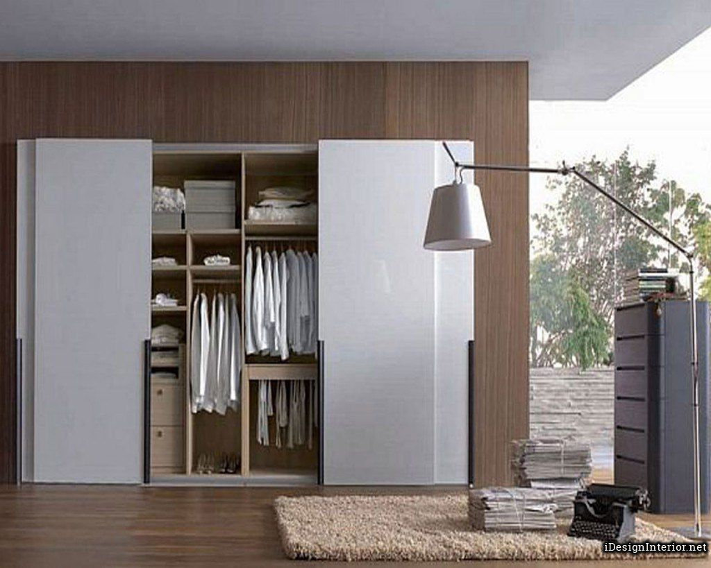 Elegant Wardrobe For Small Space Bedroom Sliding Wardrobe Doors Wardrobe Doors Modern Sliding Doors