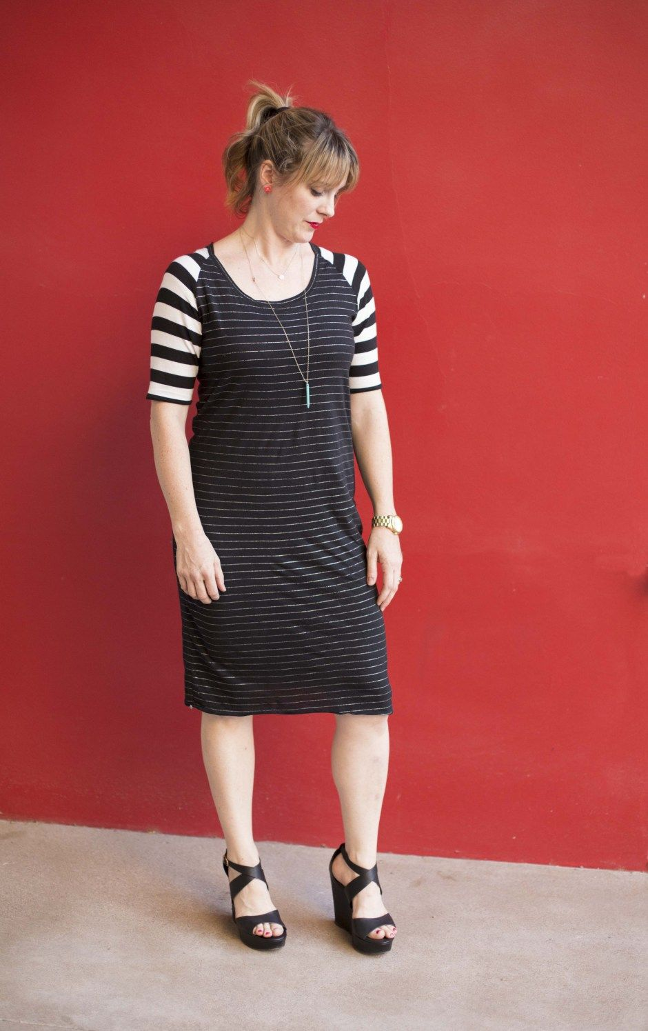 Free Sewing Pattern! The Perfect Women\'s Knit Dress | Nähen