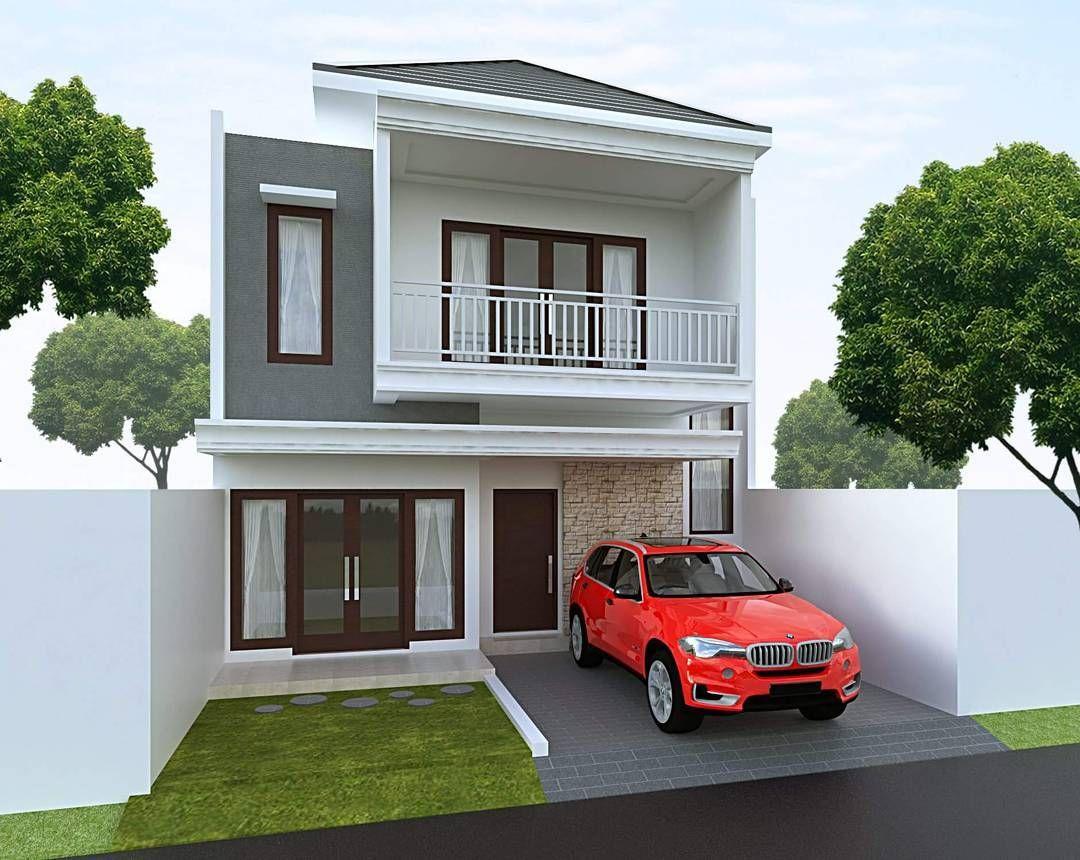 Desain rumah minimalis type lantai also lely on pinterest rh