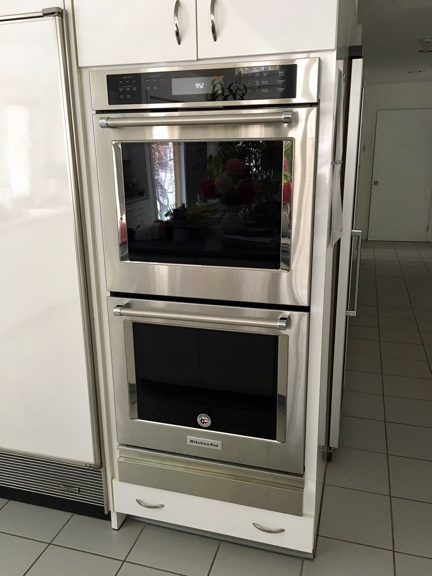 Wall Oven Filler Strip For A Kitchenaid Model Kode307ess Wall Oven Combination Wall Oven Steam Oven