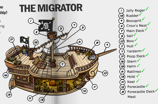 pirate-ship-parts-labeled_270097.png (523×344) | Forest of the ...