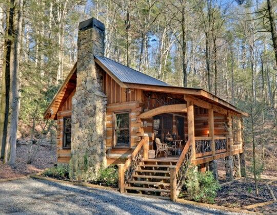 Pin by terri faucett on lake house mountain cabin for Piani casa micro cottage