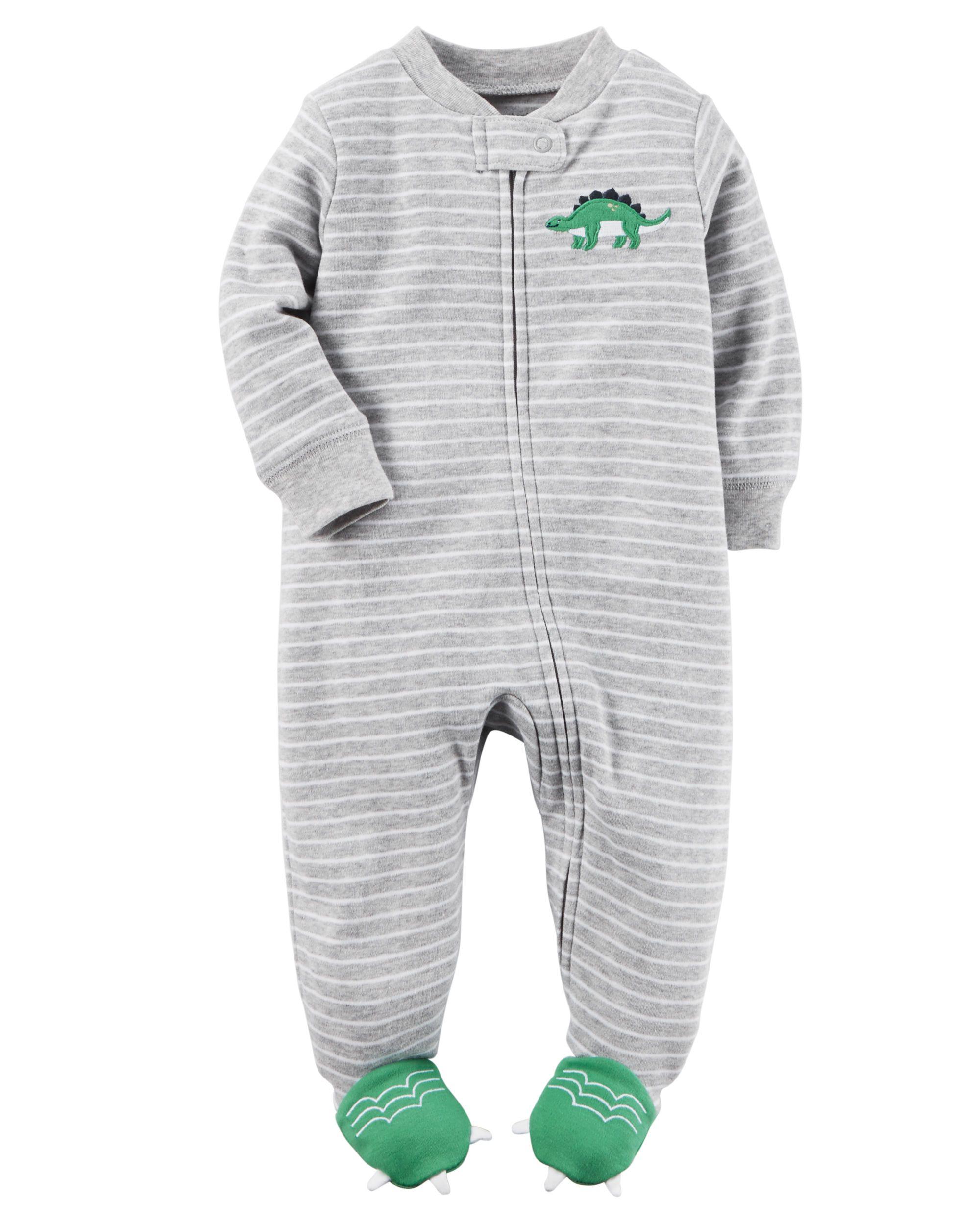 65a06f294 Baby Boy Cotton Zip-Up Sleep   Play