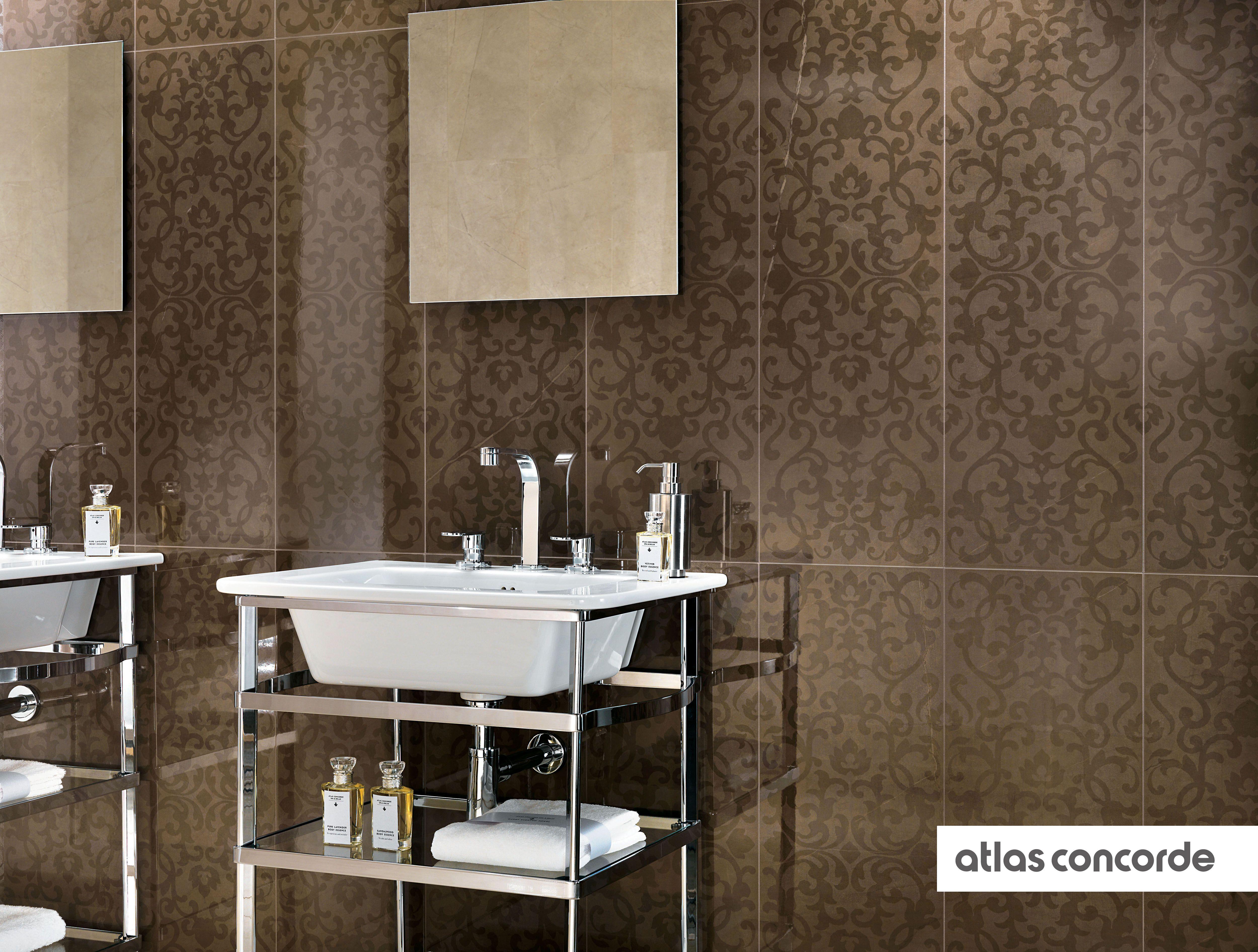 Marvel Bronze Wallpaper Wall Design Atlasconcorde Tiles
