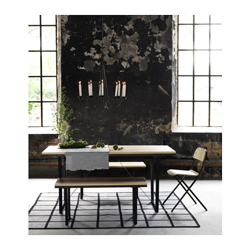 AccessoiresChalet Et Ikea RugKitchen Table Meubles Bench Aj534RL