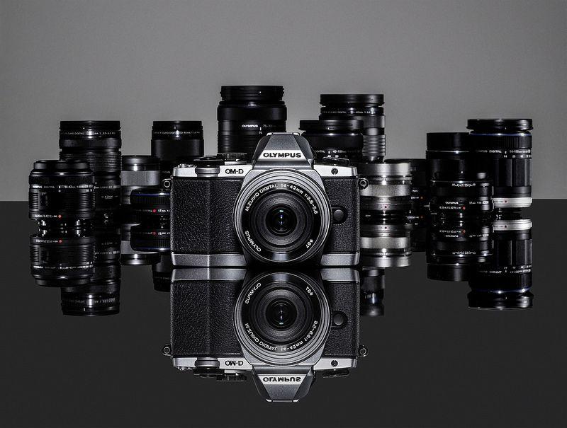 New Olympus Om D E M10 With Mft Lens Line Up Olympus Olympus Digital Camera System Camera