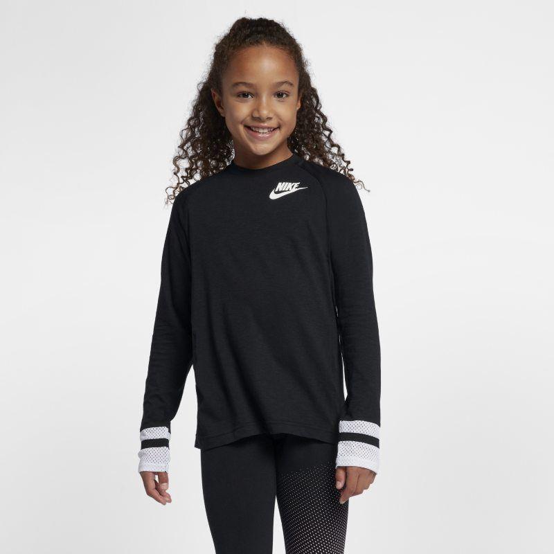 Nike Sportswear Older Kidsgirls Long-Sleeve Top -7405