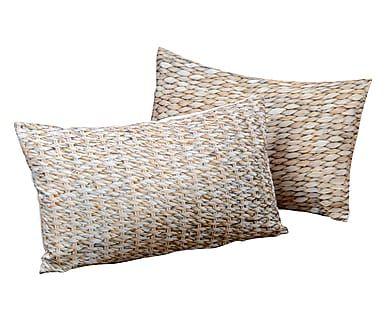 Set di 2 cuscini in poliestere multicolor Seagrass, 50x30 cm