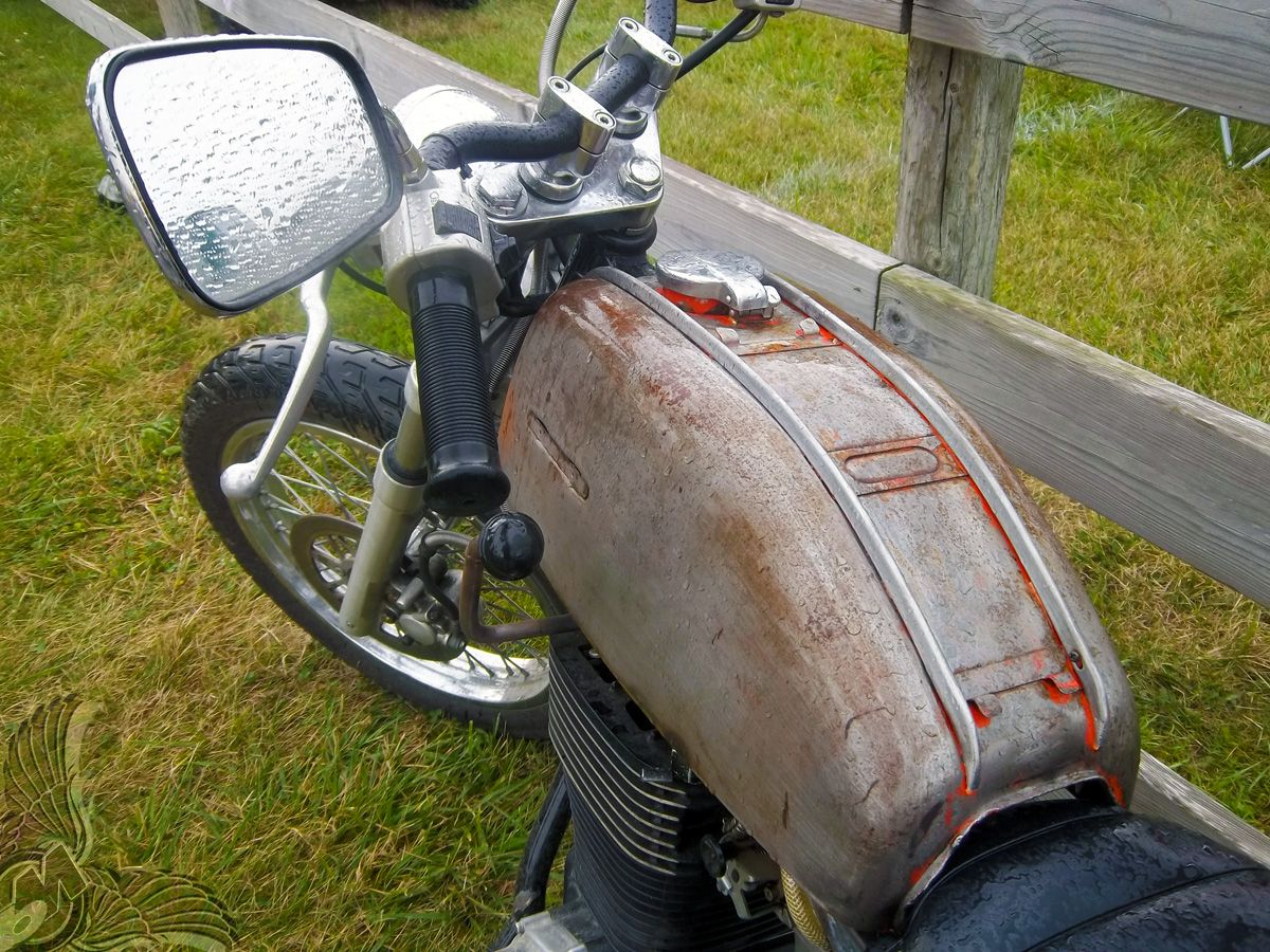 or is it a metric cafe racer