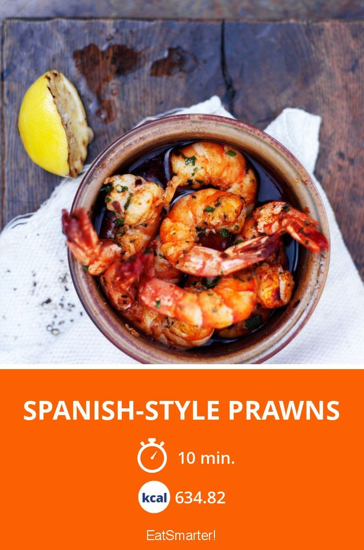 spanish style prawns recipe prawn recipes delicious healthy recipes recipes pinterest