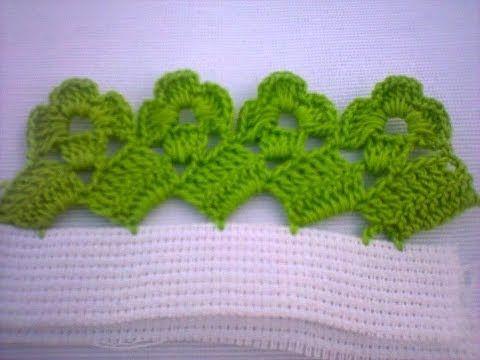 Bico Em Croche Carreira Unica Youtube Bico De Croche