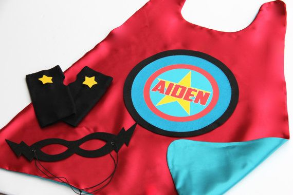 KIDS CUSTOM Superhero Costume  Personalized 3 by superkidcapes