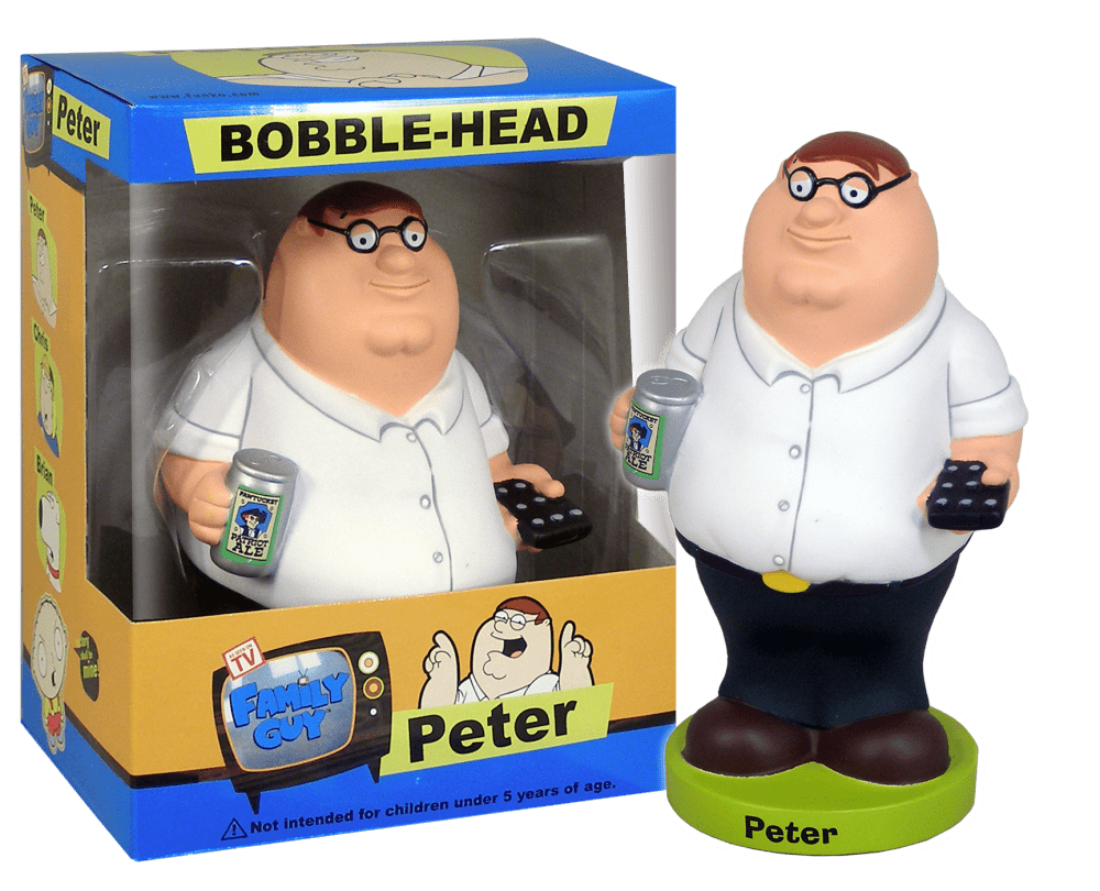 Peter Griffin Catalog Funko Everyone Is A Fan Of Something Peter Griffin Wacky Wobbler Funko
