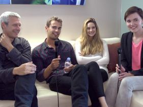 Will Shailene And Theo Get A Sneak Peek At 'Allegiant'? COMIC CON 2013