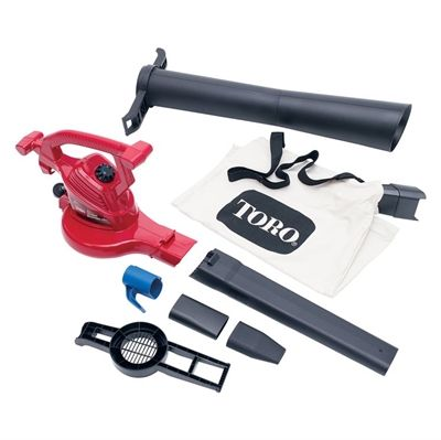Toro Leaf Blower 51619 12 Amp Corded Electric Ultra Blower Vac Leaf Blower Vacuums Outdoor Power Equipment