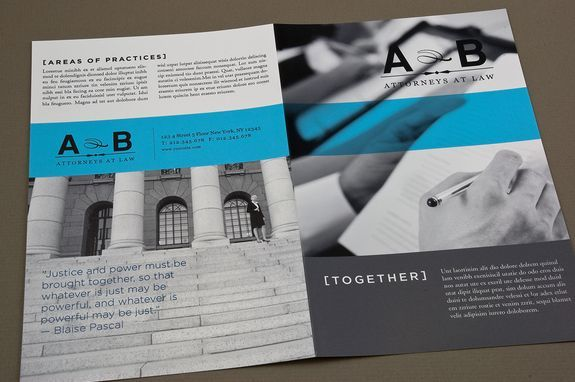 Classic Law Firm Brochure Template | design | Pinterest