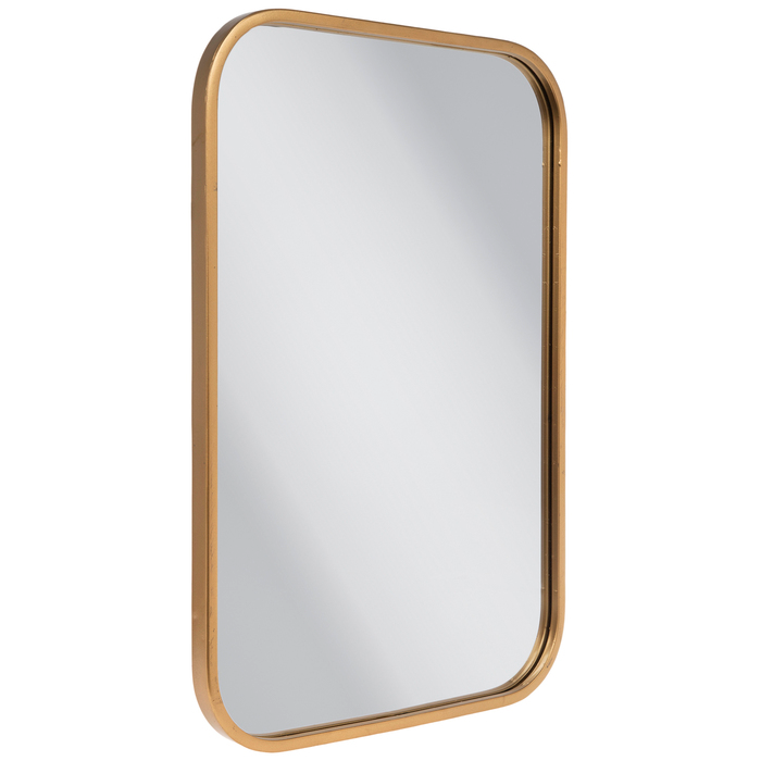 Gold Rounded Rectangle Metal Wall Mirror Hobby Lobby 1810696 Mirror Wall Mirror Rounded Rectangle