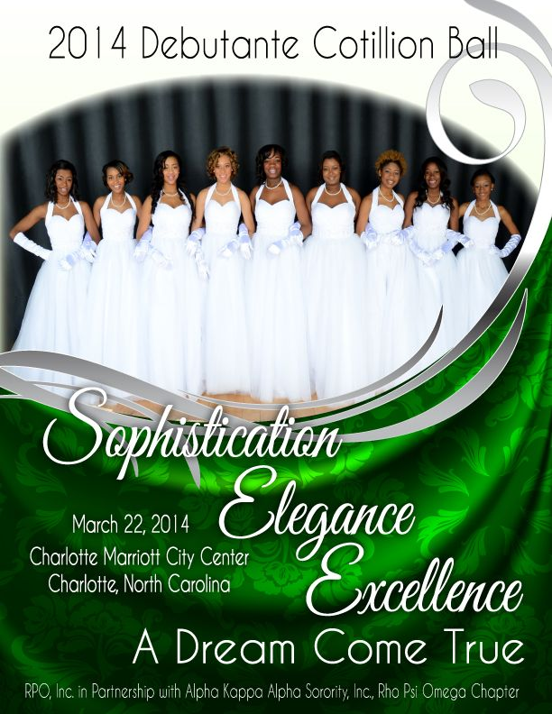 Cotillion Flyer 2014 Debutante Cotillion Ball