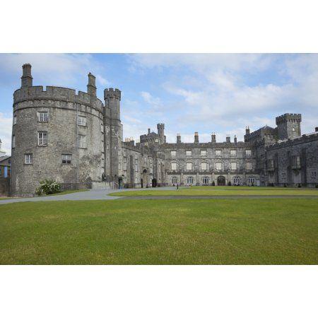 Kilkenny Castle County Kilkenny Ireland Canvas Art - Carl Bruemmer Design Pics (19 x 12)