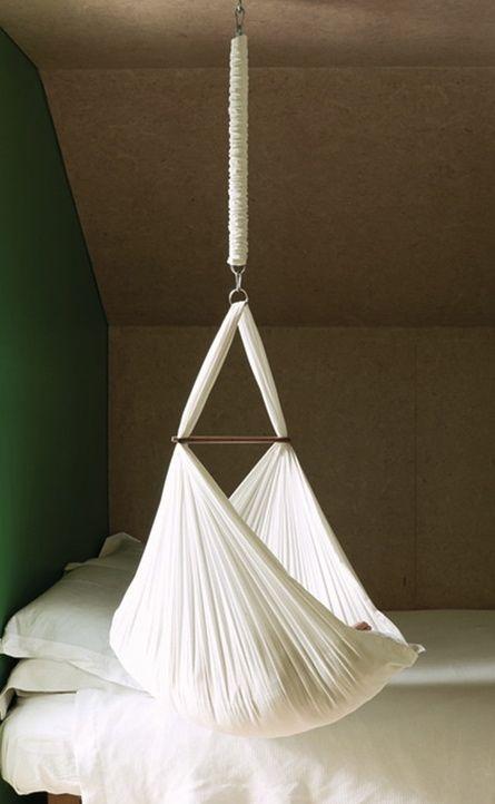 Baby Hammock by Nature's Sway   Hanging crib, Baby hammock, Hanging cradle
