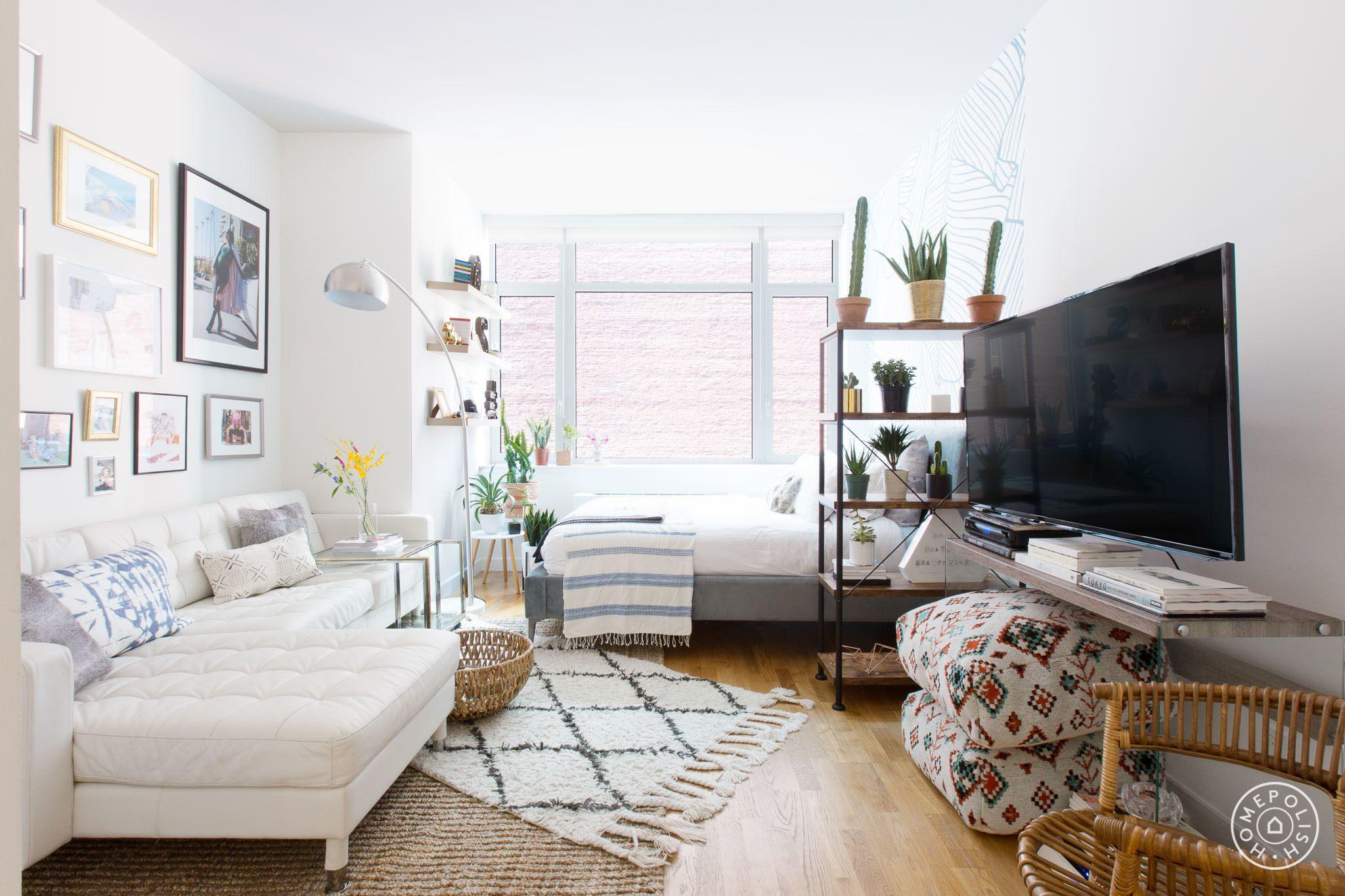 Maximizing A Minimalist-Sized Studio In NYC