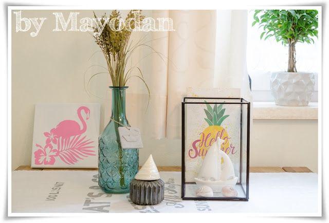 Wohnerzimmer im Sommerlook und große Flamingoliebe mit - grose wohnzimmer bilder