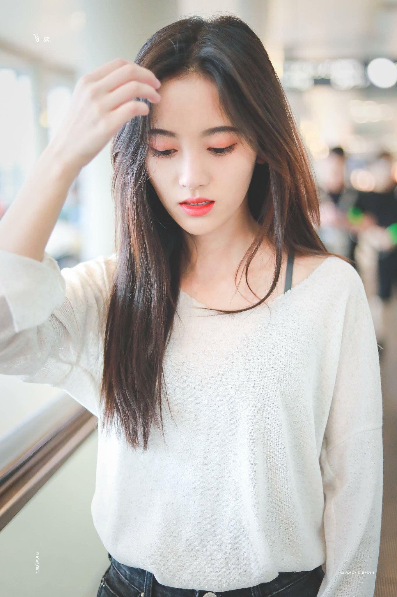 Ghim của ToSo trên Cúc Tịnh Y 鞠婧祎 Ju Jingyi Nữ thần