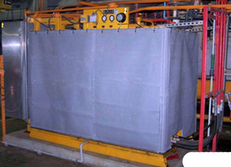 Qbv Blankets Strip Curtains Blanket Vent Hood