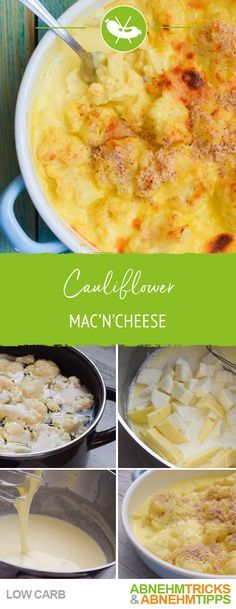 Low Carb Cauliflower MacnCheese – köstlich & besser als Original