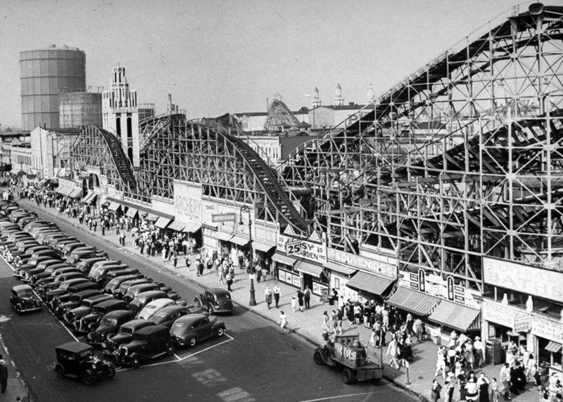 Coney IslandThe Tornado Coney island amusement park