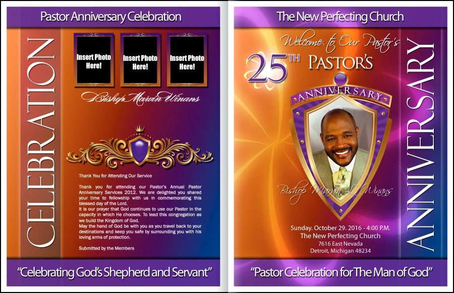 Church anniversary booklet google search kd kreations for Templates for church programs