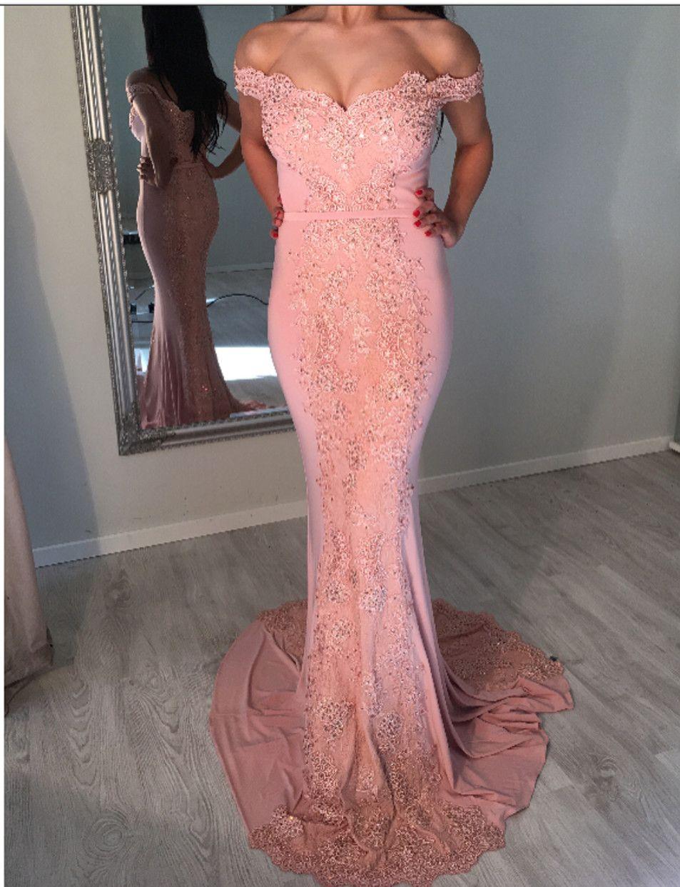 Charming Prom Dress,Sexy Lace Evening Dress,Mermaid Prom Dress ...