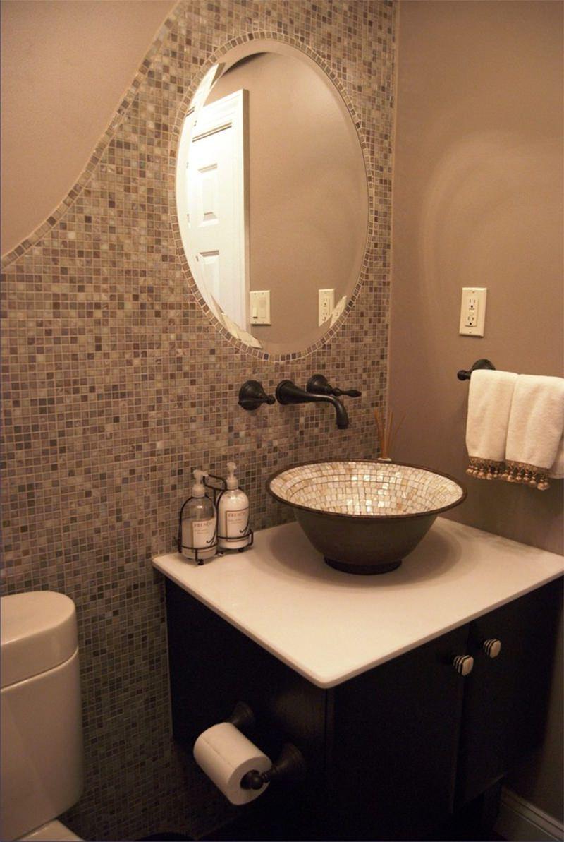 25 banheiros decorados com pastilha para voc se inspirar for Fotos de banos modernos en cuba