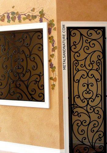 Custom Doors Windows Tampa Florida With Images Wrought Iron
