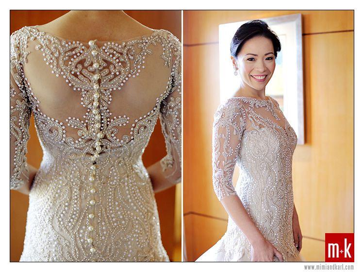 custom Veluz gown