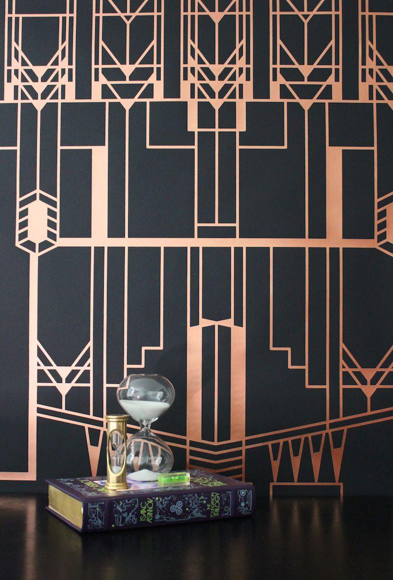 Art Deco Wallpaper, City Wallpaper