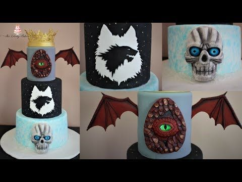 YouTube game of thrones cake Pinterest Cake tutorial and Cake