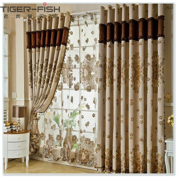 Living Room Curtains Design Adorable Living Room Curtains  House Ideas  Pinterest  Living Room Design Decoration