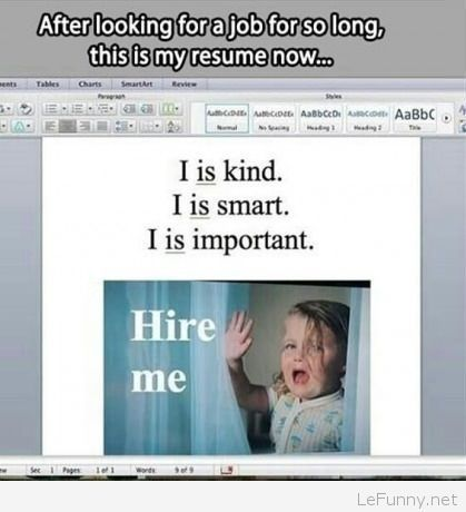 Funny resume picture Funny Pictures Funny Quotes Funny Jokes - funny resume