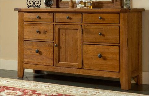 Attic Heirlooms Door Dresser Original Oak By Broyhill Broyhill Furniture Broyhill Heirloom Furniture