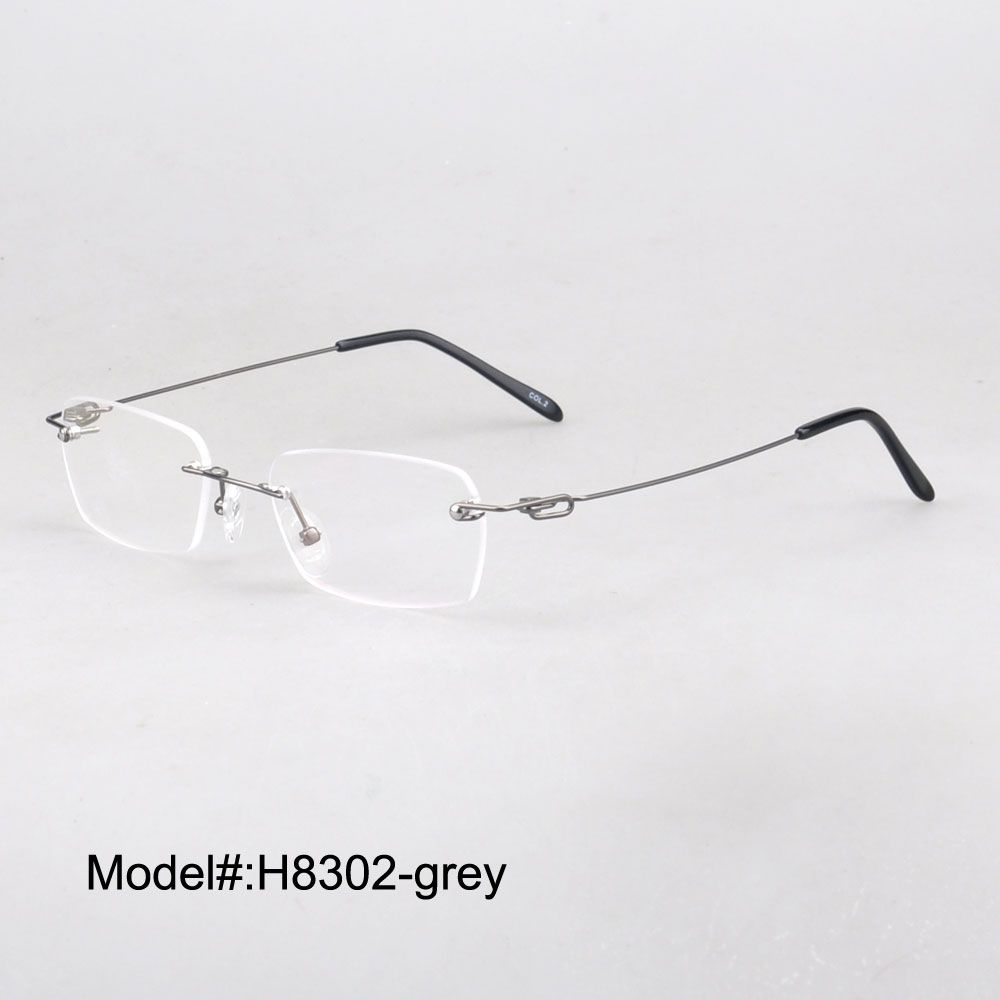 Click to Buy << H8302 Free shipping Clip on sunglasses metal optical ...