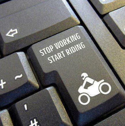 Stop working  Start riding  Where is this on my keyboard? | HD