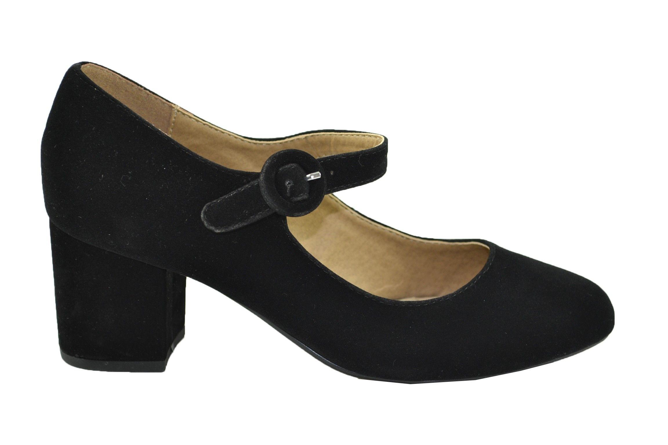 Zapatos Con Tacón Mary Jane De Mujer. De la marca Maria Mare