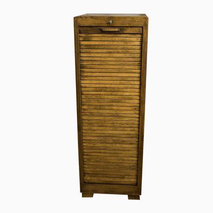 Vintage Schrank mit Rolltür im Bauhaus Stil Jetzt bestellen unter - schrank für wohnzimmer