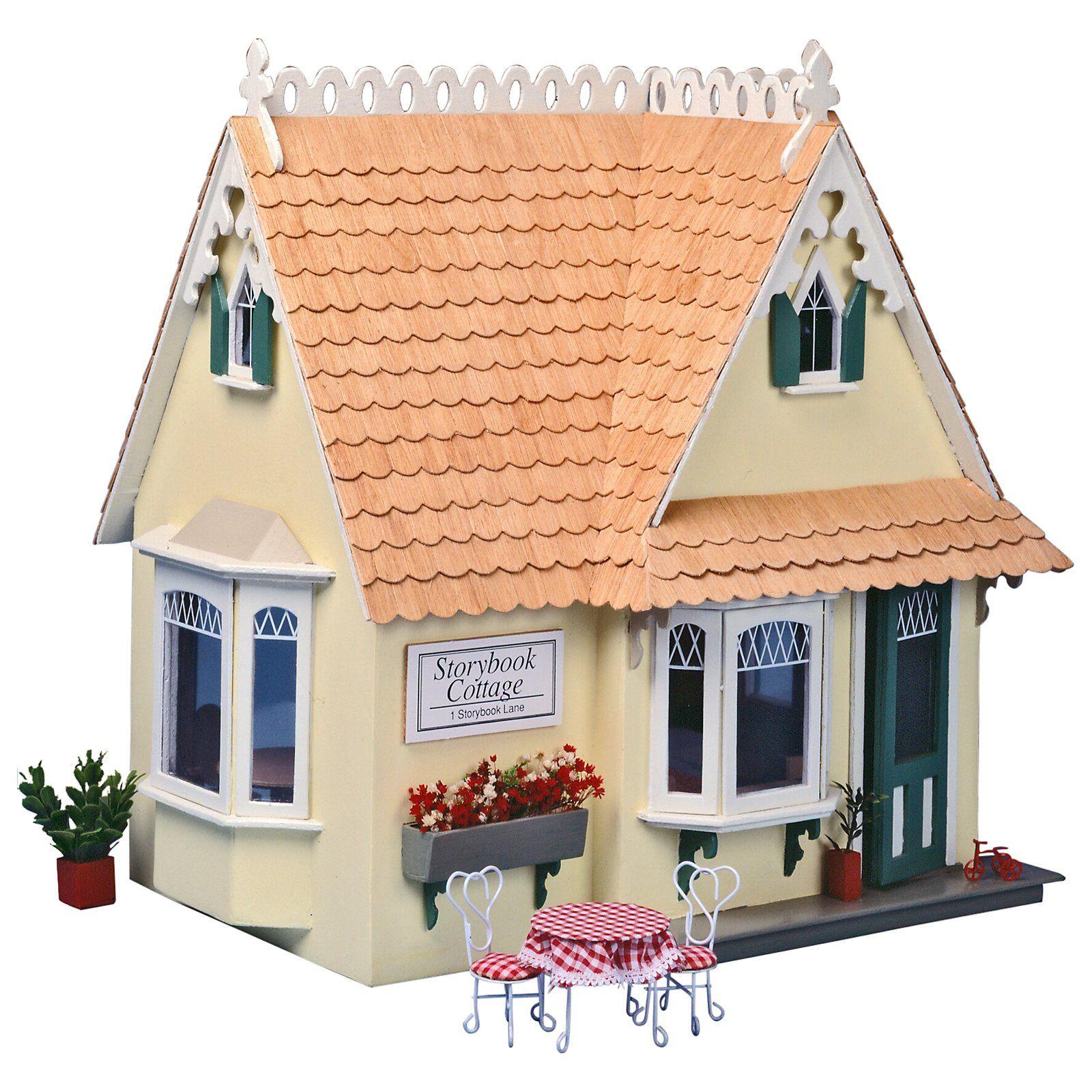 Greenleaf Storybook Cottage Dollhouse Kit  1 Inch Scale $4999