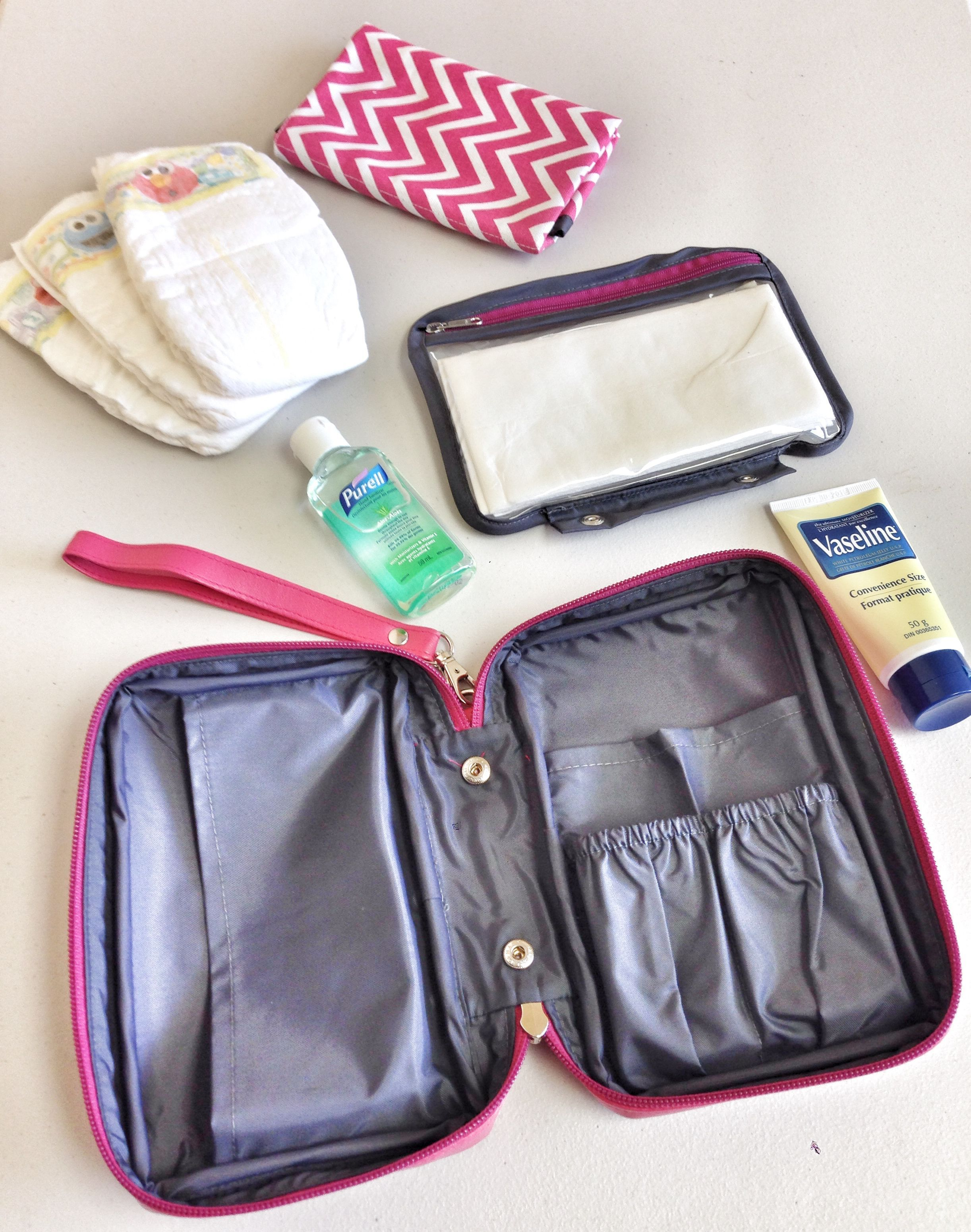 Tired Of Carrying Big And Bulky Diaper Bags Travel Light With The